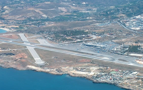 Heraklion-airport Panorama